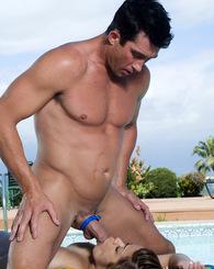 Big boob big ass sexy latina slut sucks big dick like crazy