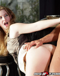 Sexy and natural Sunny Lane sucks cock before getting fucked in several positions in this passionate set.