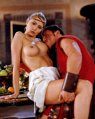Two roman princesses getting fucked hard by horny emperors