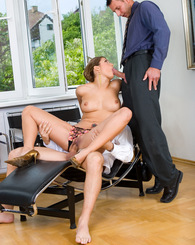 Good looking business woman knows how to close a hot deal