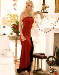 Veronika Symon gets ready for Christmas