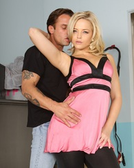 Alexis Texas plays Kelly in this hot fucking scene in the garage